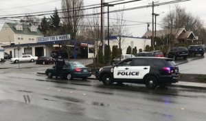 Traffic Stop In Bremerton Washington