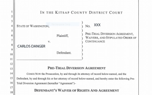 Pre-Trial Diversion Agreement