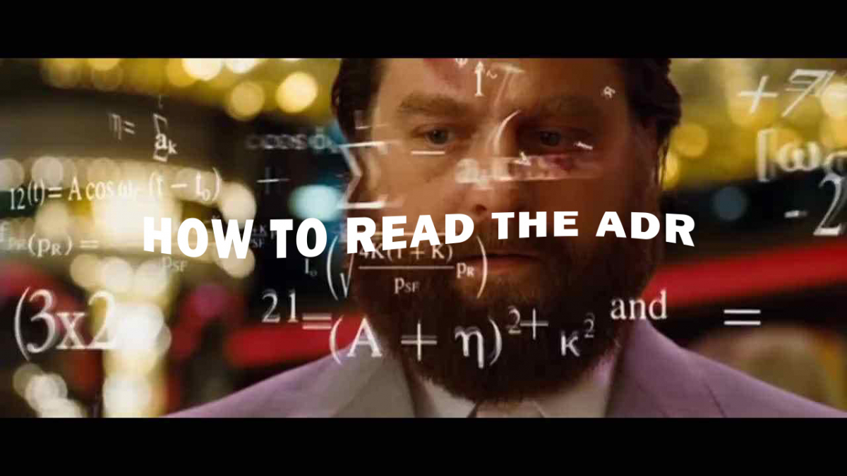 How To Read A Washington A.D.R.