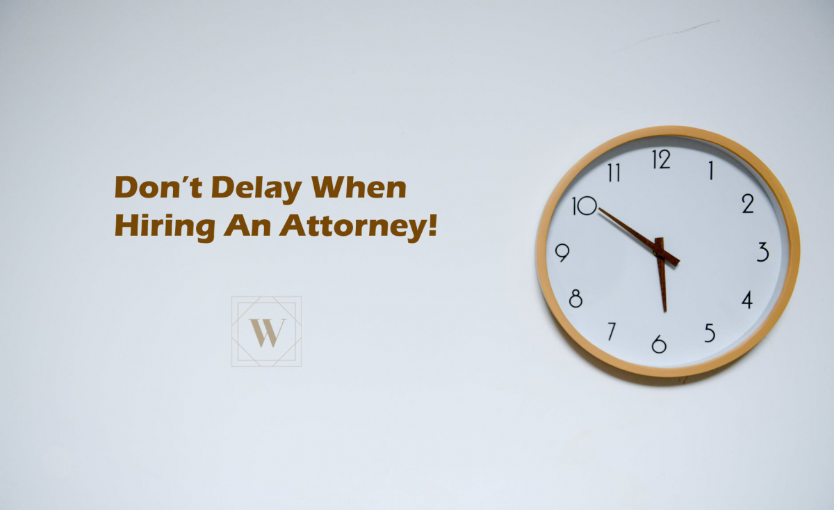 Don't Delay In Hiring A Defense Attorney
