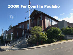 Zoom Link For Court In Poulsbo Washington