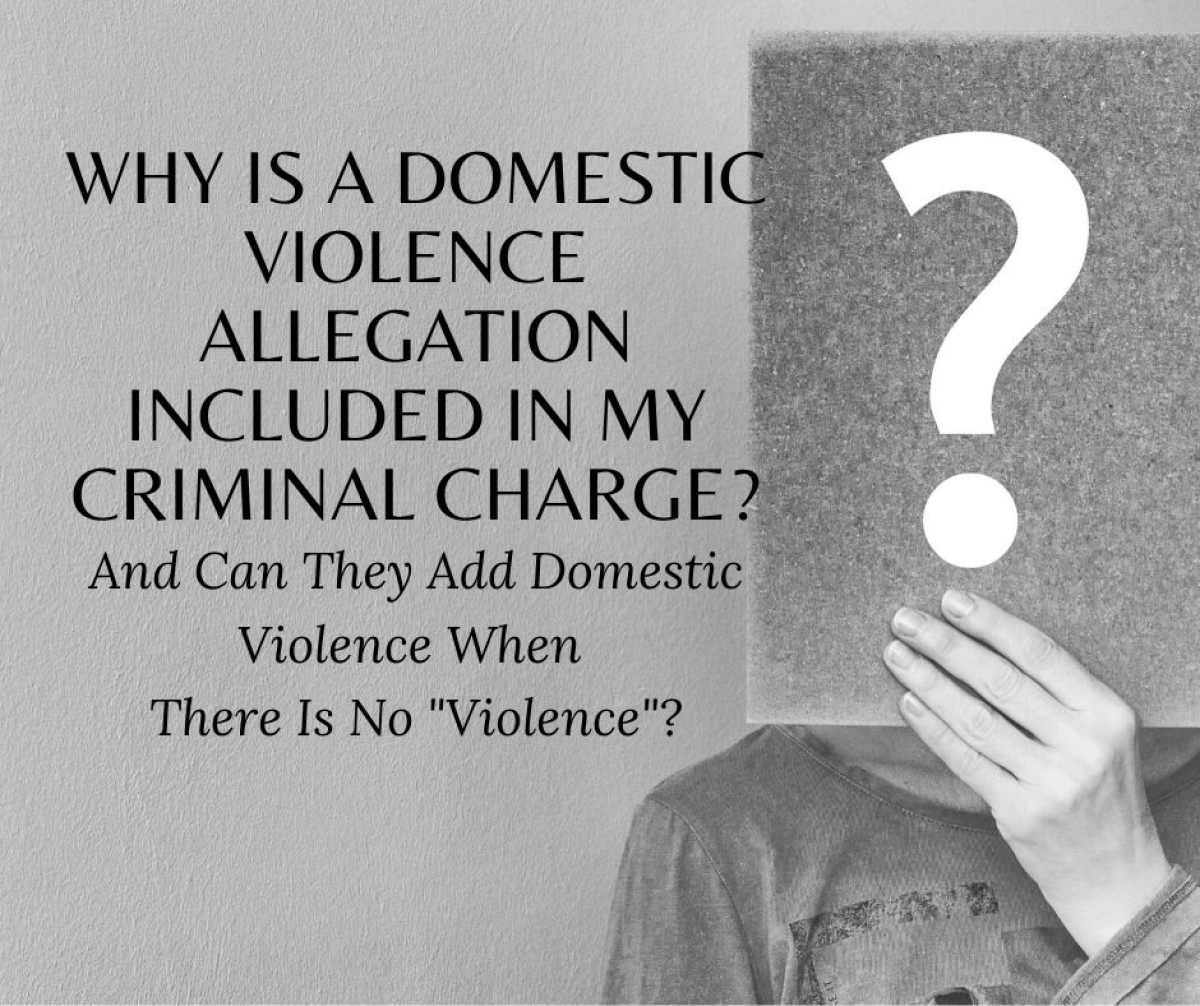 Domestic Violence Special Allegation