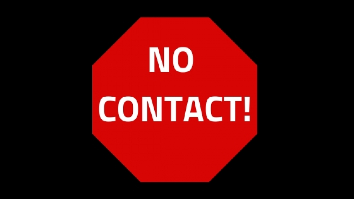 Image result for no contact order