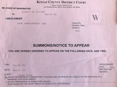 I Received A Summons For Court. What Do I Do?
