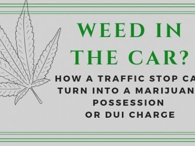 Do You Drive With Marijuana In Your Vehicle?