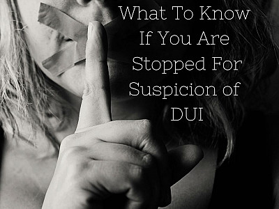 What To Do During And After A DUI Stop