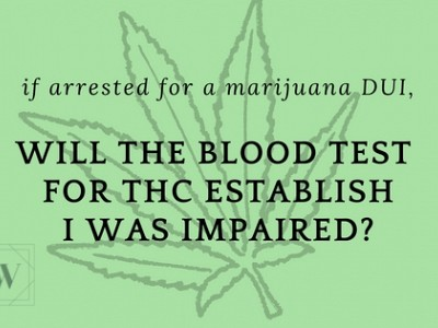 I Was Not Impaired. How Can I Be Arrested For A Marijuana DUI?