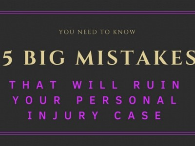 5 Big Mistakes That Will Ruin Your Auto Accident Case
