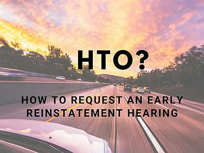 How To Request A Habitual Traffic Offender (HTO) Hearing